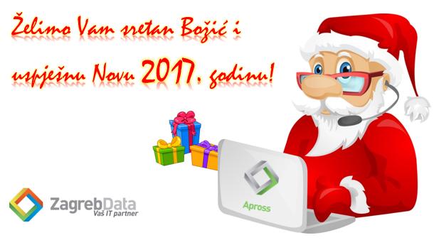 Zagreb Data čestitka 2017.